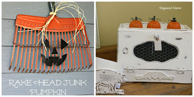 junk pumpkins selling at No Place Like Home