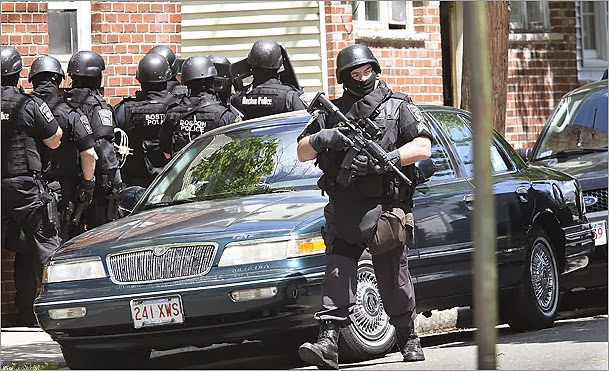 militarization of local police Ferguson and the militarization of police  limit or eliminate sales of surplus military equipment to state and local law enforcement, and comments from the pentagon .