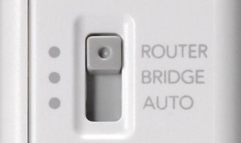 無線LANルータの「ブリッジモード」