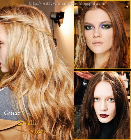 цвят на косата есен-зима 2013