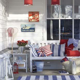 Decora o de casa de praia ideias decora o mobili rio for Beach hut decoration ideas