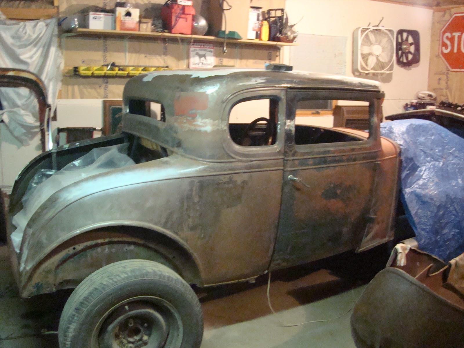 Roddin bakk 1931 chevrolet 5 window coupe body for 1931 chevy 5 window coupe