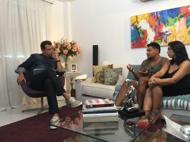 Em entrevista à Record, Naldo e Ellen Cardoso quebram o silêncio após separação polêmica