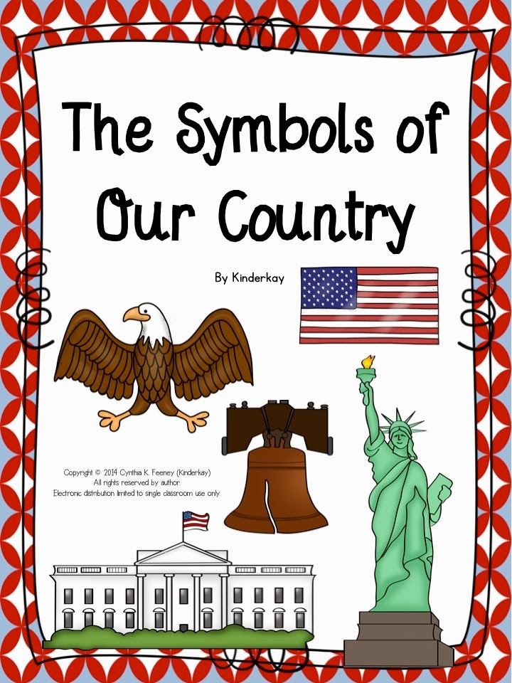 http://www.teacherspayteachers.com/Product/The-Symbols-of-Our-Country-For-Little-Kids-1099052