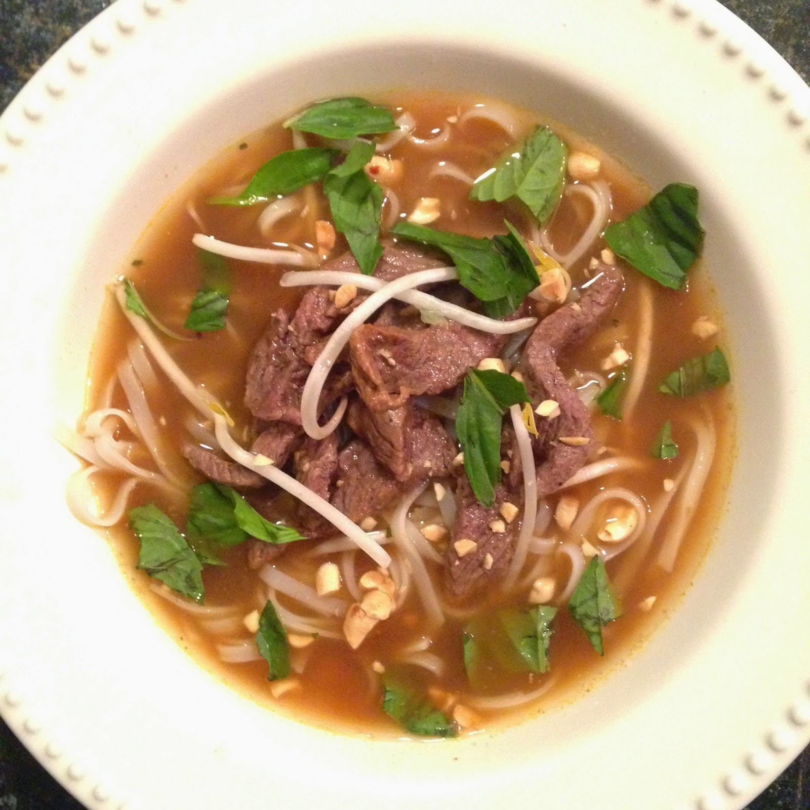 Blue apron vs plated - Beef Pho