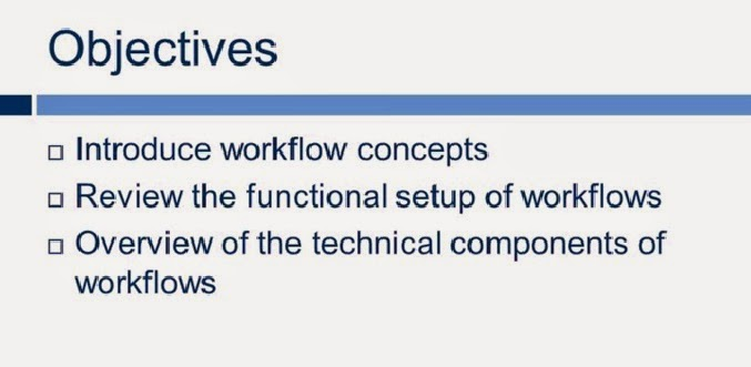 Steps for Workflow in ax 2012