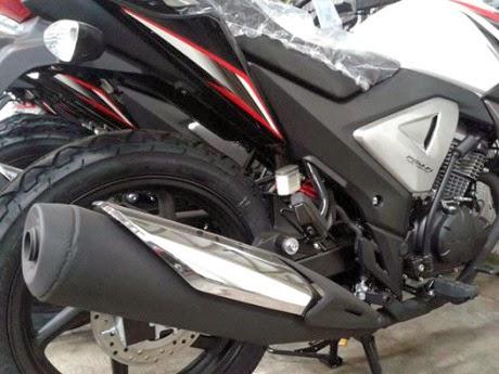 Honda Megapro Fi 2014