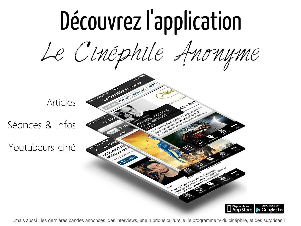 Application Le Cinéphile Anonyme 2.1