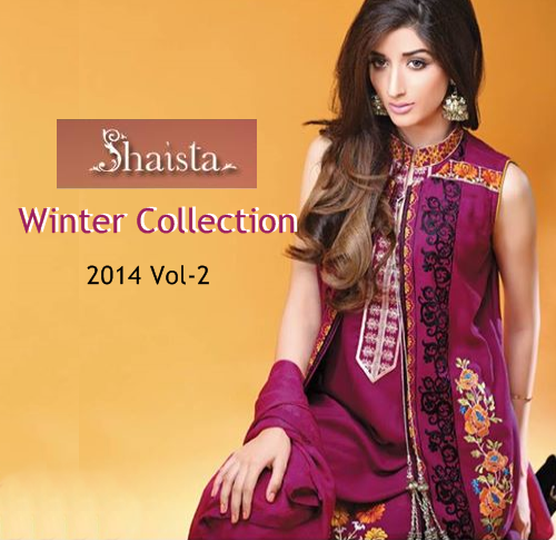 Shaista Winter Collection 2014 Vol-2