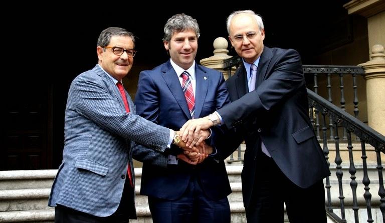 Athletic, Petronor y Kutxabank renuevan el acuerdo de patrocinio