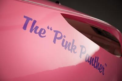 pink panther car auto