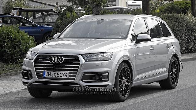 Audi SQ7 SpyShot