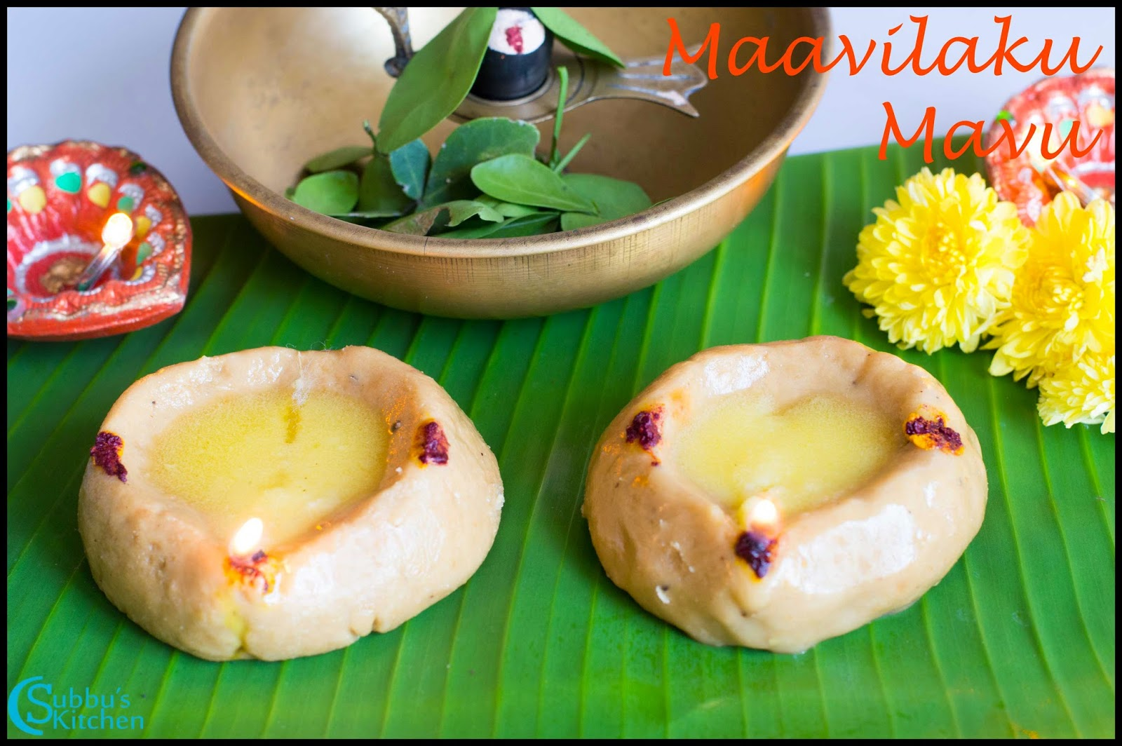 Maavilaku Mavu Recipe | Maa Vilakku Mavu Recipe | Karthigai Deepam Recipes