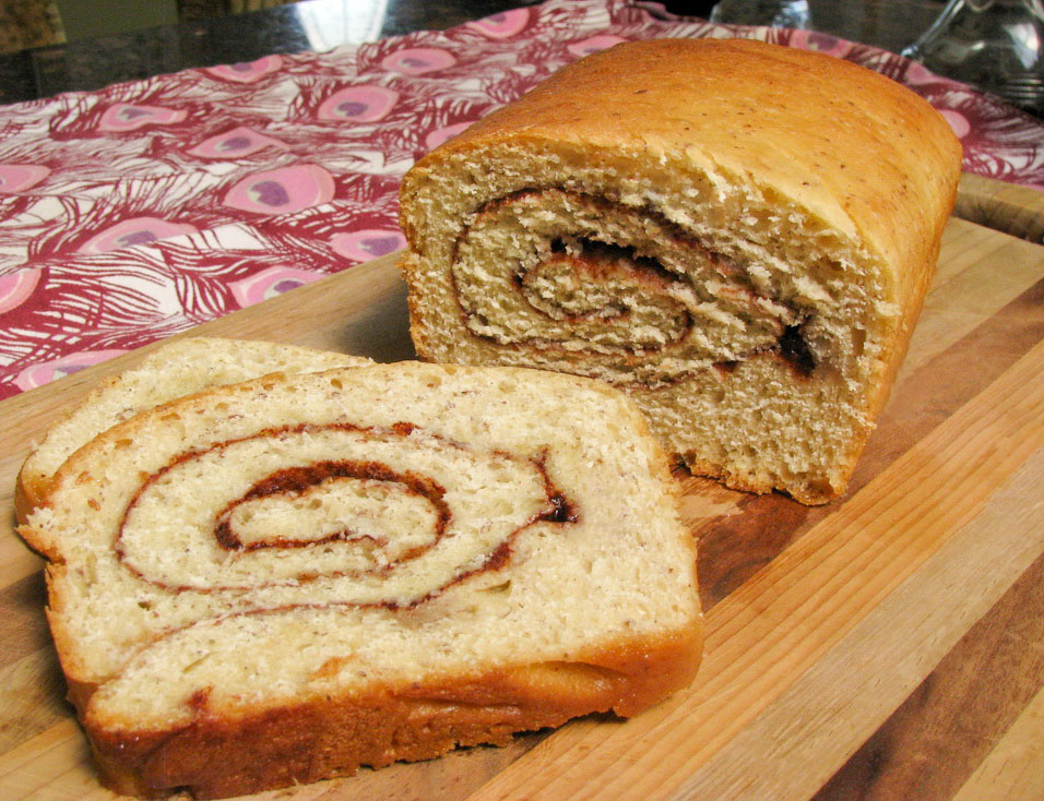cinnamon bread not to be confused with cinnamon buns this bread is ...