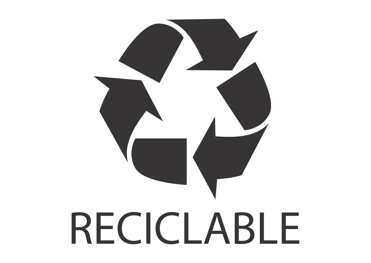 Reciclable Logo Vector download free