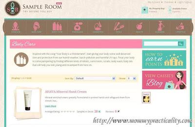 Sample Room: Choose A Sample
