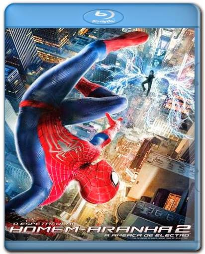 Download O Espetacular Homem Aranha 2 A Ameaca de Electro 720p + 1080p 3D Bluray AVI Dual Áudio + RMVB Dublado BDRip Torrent