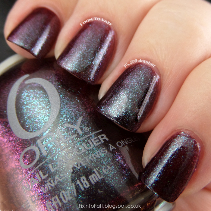 Swatch of Orly Galaxy Girl.