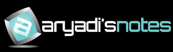Aryadi's Notes