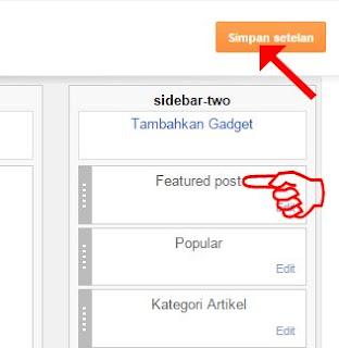 Simapn Setelan Blogger