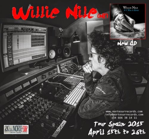 WILLIE NILE - Tour Spain 2015