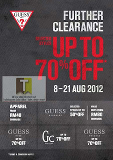 GUESS Further Clearance Sale