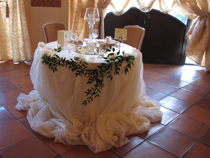 Florence 39 s home arriva il primo passo - Tavolo matrimonio casa sposa ...