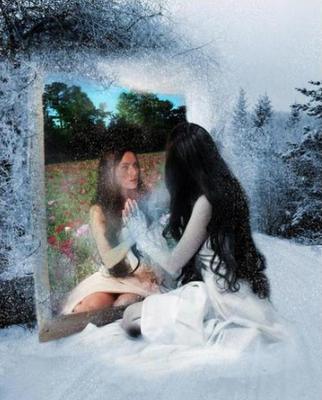 Cascada de im genes cuentos y pensamientos reflexiones for El rincon del espejo