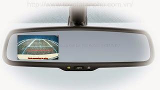 guong chieu hau tich hop man hinh toyota Corolla Altis 1.8G CVT