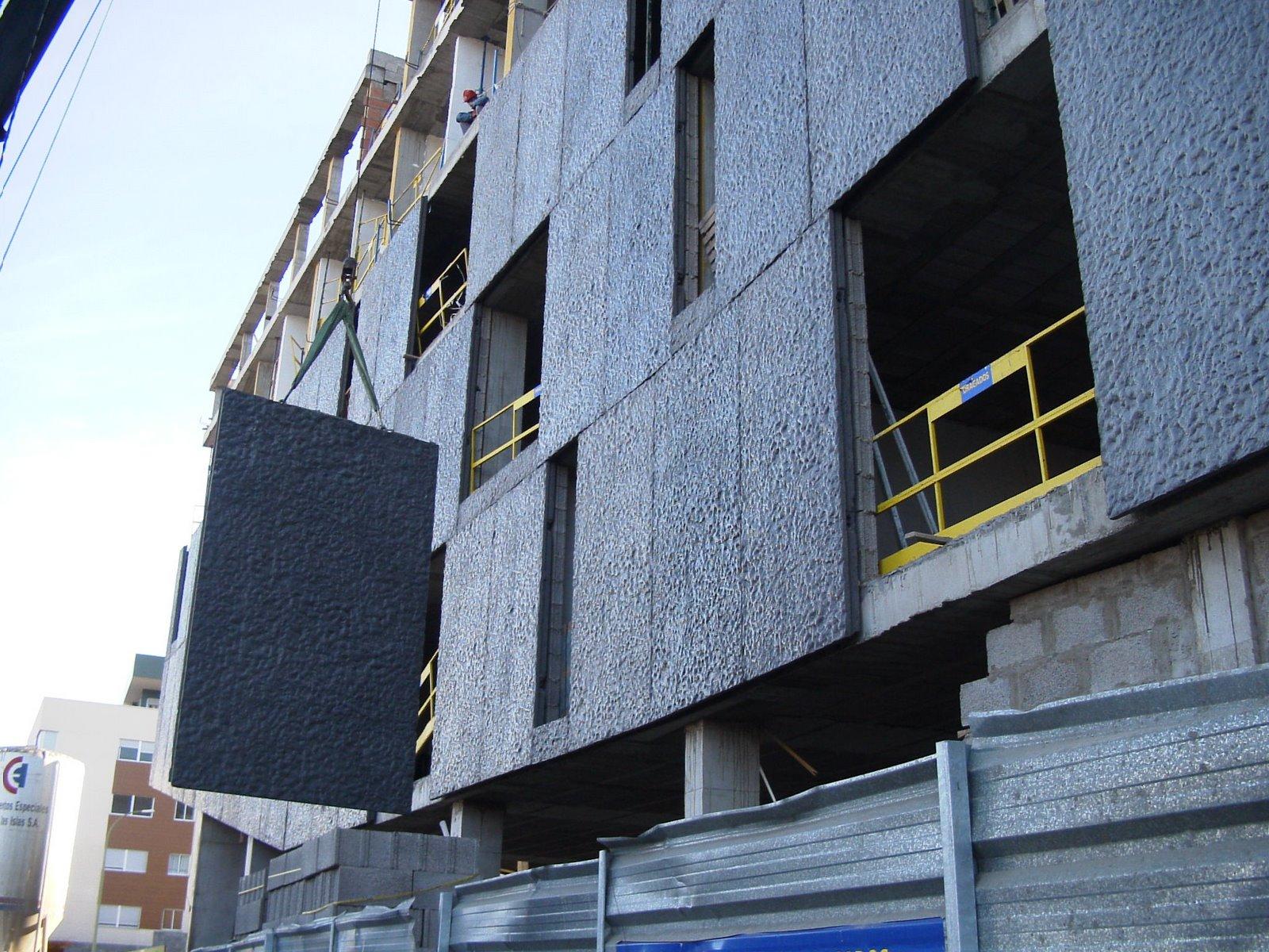 Concrete Building Facade : Architectonic concrete s l textured building façade