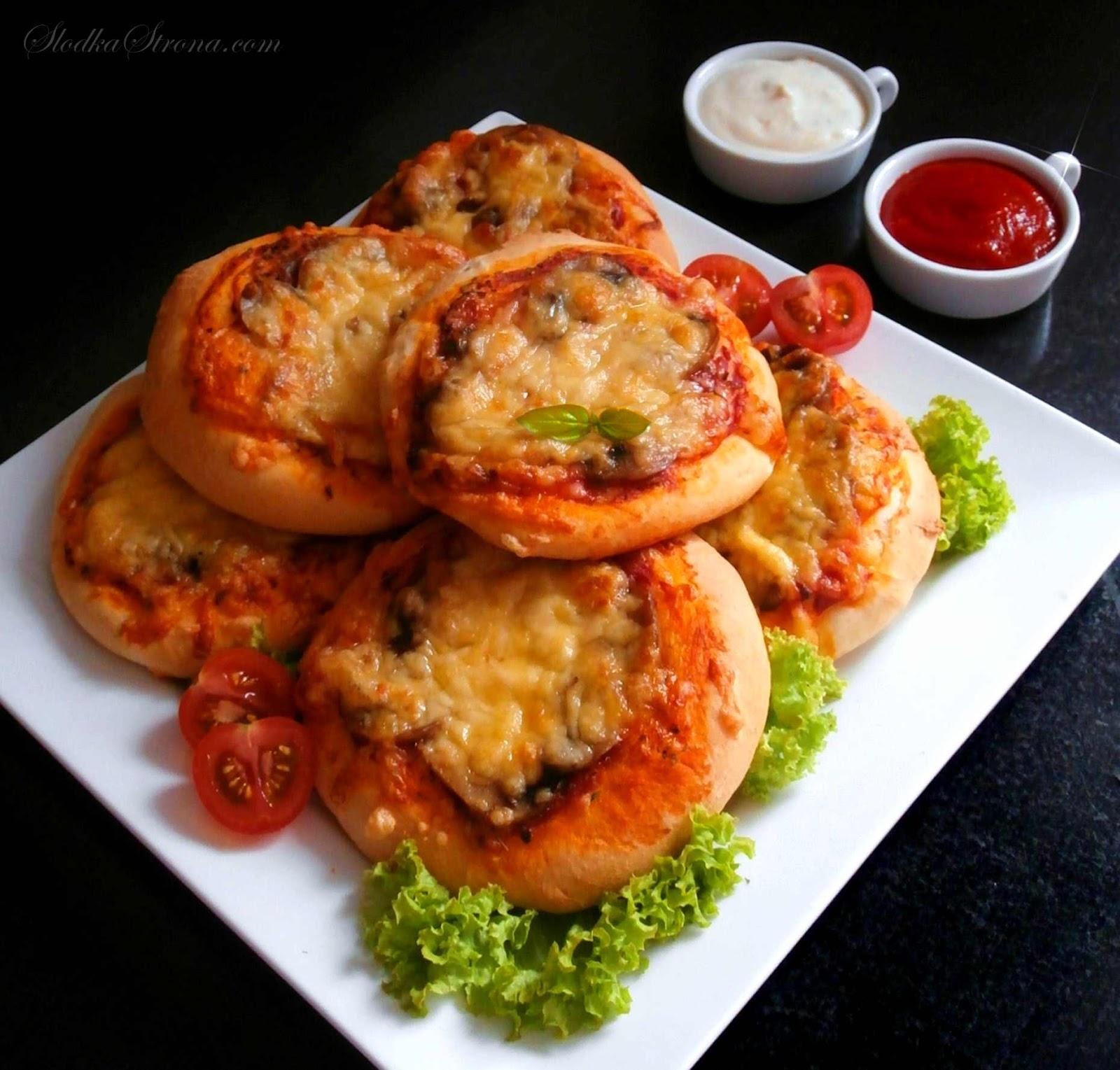 Pizzerinki - Przepis - Słodka Strona