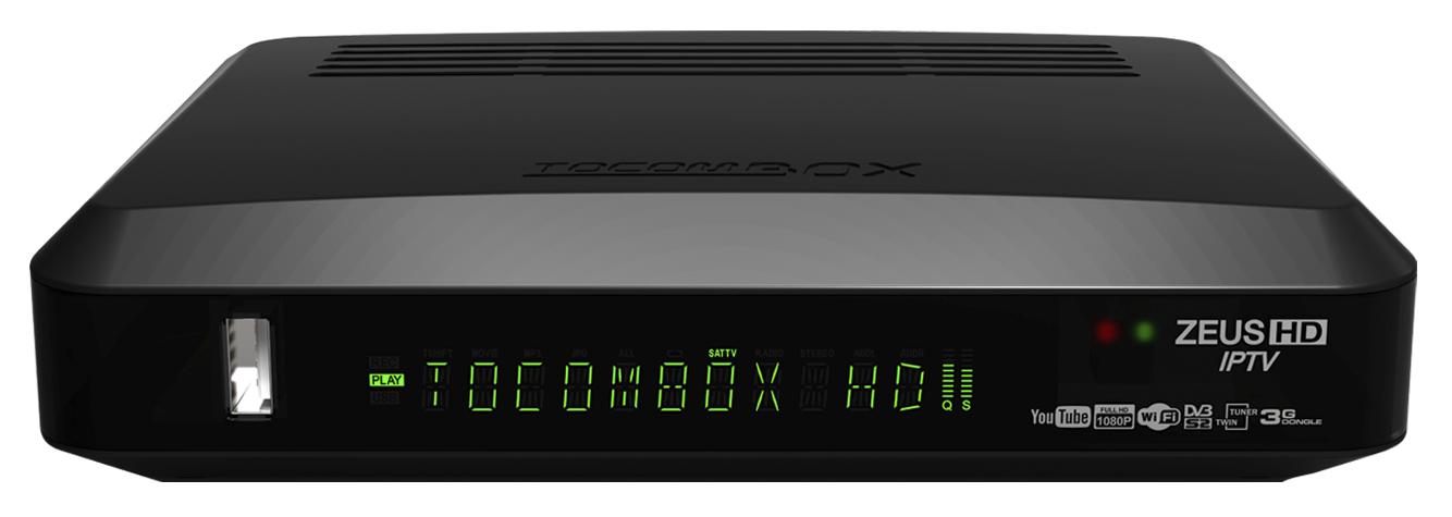 Vídeo TOCOMBOX ZEUS HD IPTV - Como Atualizar