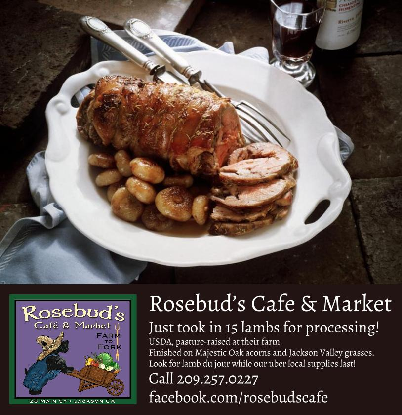 Rosebud's Cafe & Market features USDA pasture-raised lamb