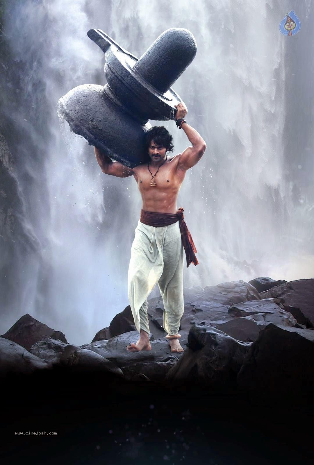 Bahubali movie shivudu posters
