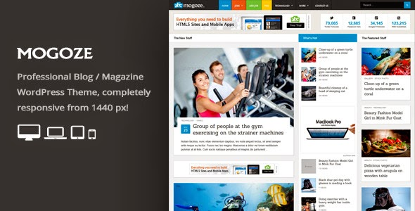 Mogoze v1.9 - Responsive Magazine WordPress Theme