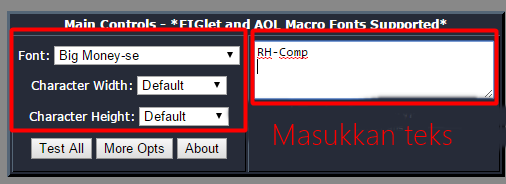 kali ini aku ingin mengshare wacana bagaimana cara mengubah gambar menjadi teks Cara Mengubah Gambar Menjadi Teks (ASCII art)