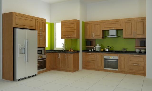 Kết quả hình ảnh cho tủ bếp gỗ sồi mỹ