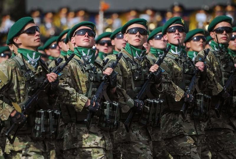 The Independence Day have been celebrated in Ukraine. Holiday military parade have been conducted on Maidan Nezalezhnosti