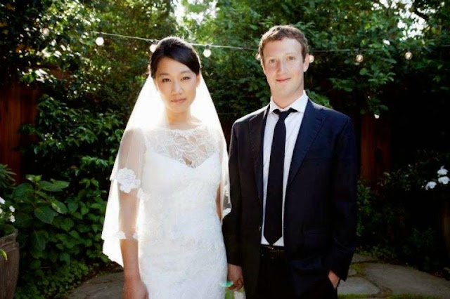 Mark Zuckerberg - Priscilla Chan istrinya