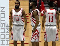 NBA 2K13 Houston Rockets Home Jersey