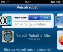 CONTROLLO AUTO E TARGHE RUBATE