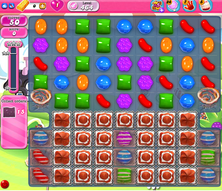 Candy Crush Saga 464