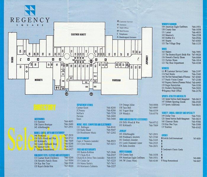 historical maps of florence alabama mall - photo#7