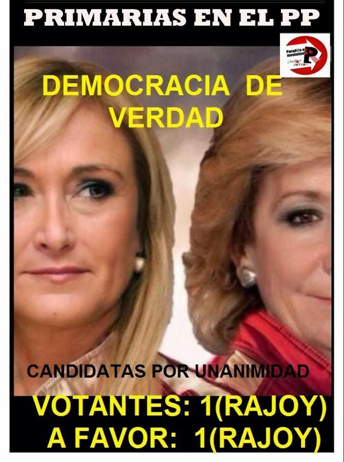 Primarias en el PP, democracia de verdad