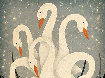 Seven Swans....