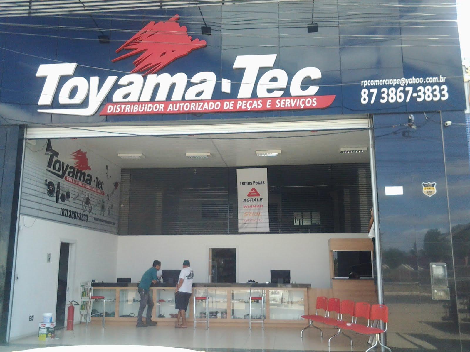 TOYAMA-TEC DISTRIBUIDOR AUTORIZADO DE PEÇAS E SERVIÇOS