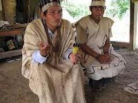 La eshuva es una oración recitada, sin instrumentos y en lengua harakmbut