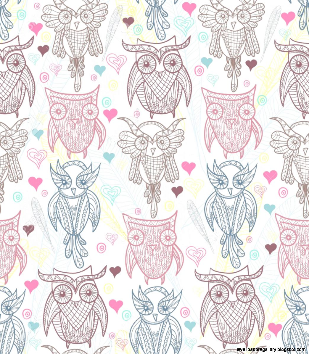 Vintage Owl Wallpaper ...