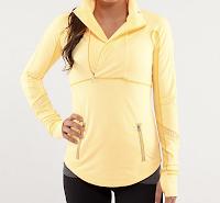 Yellow Long Sleeve Style Athletics Lululemon