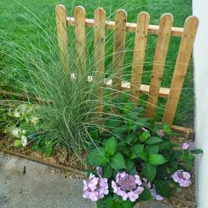 Une barrière de jardin en palette récup\' | Arda Déco
